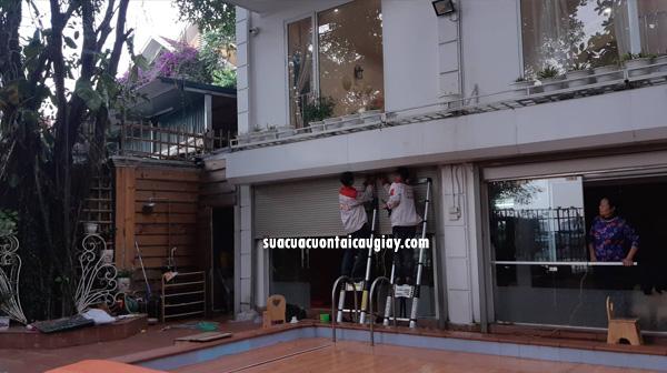Sửa cửa cuốn phường Dịch Vọng