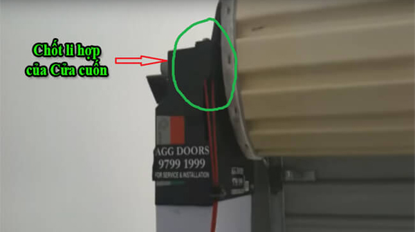 Làm thế nào để mở cửa cuốn khi mất điện