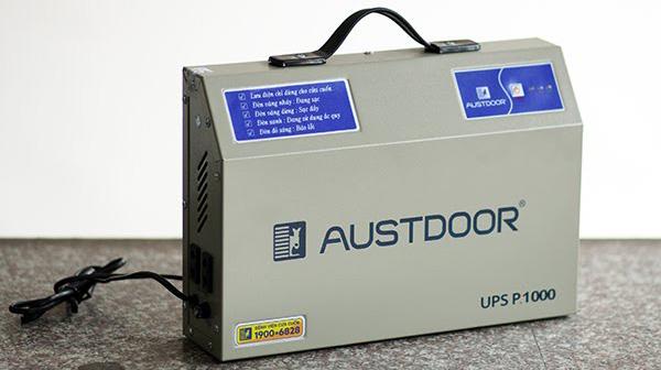 Công năng của lưu điện cửa cuốn austdoor