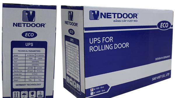 Ưu điểm của lưu điện cửa cuốn Netdoor